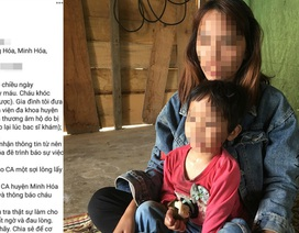 Mẹ trẻ lên Facebook cầu cứu vì nghi con gái 4 tuổi bị xâm hại