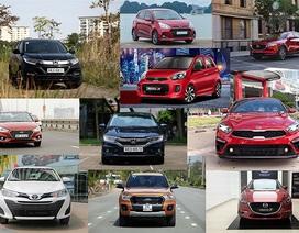 """Honda CR-V duy trì số 1, """"ông vua"""" Toyota Vios mất hút"""