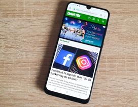 Trên tay Galaxy A50 - smartphone tầm trung có cảm biến vân tay màn hình
