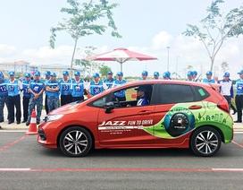 1.400 học viên được đào tạo lái xe an toàn cùng Honda Việt Nam