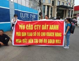 """Khách hàng mua dự án Gold Hill """"quậy tưng"""" vì chưa có """"sổ đỏ"""""""