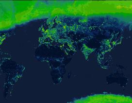 Một loại bản đồ mới thể hiện mức độ ô nhiễm ánh sáng toàn cầu