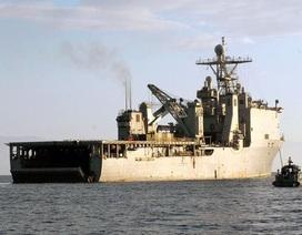 Chiến hạm Mỹ bị cách ly trên biển vì virus hiếm