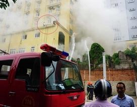 Vụ cháy khách sạn - karaoke - bar Avatar: Phát hiện một người tử vong