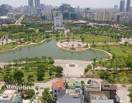 """Đề xuất """"xén"""" đất công viên làm bãi xe, khu mua sắm ở Hà Nội"""