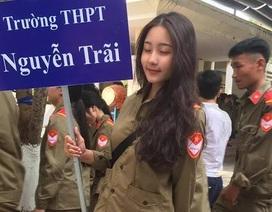 Nữ sinh Đà Nẵng bất ngờ nổi tiếng với bức ảnh tham gia hội thao