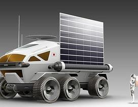 """Toyota ra mắt xe tự lái """"minibus"""" cho các phi hành gia trên Mặt Trăng"""