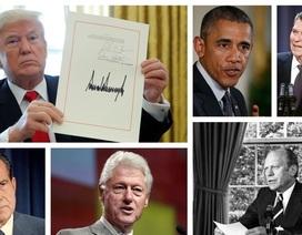 5 lần phủ quyết gây tranh cãi nhất của các đời tổng thống Mỹ