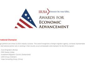 Vượt qua hàng ngàn đại lý USIS Group lọt Top 5 công ty tư vấn đầu tư định cư tốt nhất thế giới