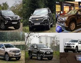 """Người Việt """"thích"""" mẫu SUV 7 chỗ nào nhất?"""