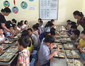 Thanh Hóa: Lưu mẫu thức ăn bán trú của học sinh