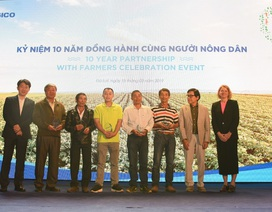 """PepsiCo tổ chức kỷ niệm 10 năm dự án """"Nông nghiệp bền vững"""""""