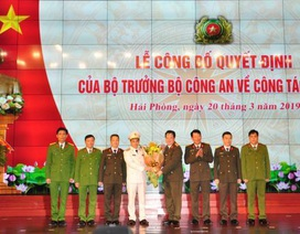 Phó tư lệnh Cảnh sát cơ độngnhậm chức Giám đốc Công an TP. Hải Phòng
