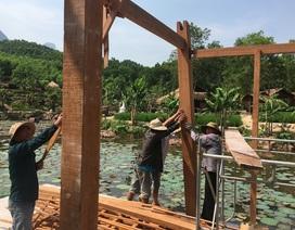 Cán bộ xã xây dựng khu du lịch trong rừng phòng hộ bị xử lý thế nào?