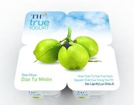 Sữa chua Dừa Tự Nhiên TH true yogurt: Khác biệt và độc đáo