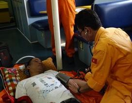 Xuyên đêm cứu thuyền viên tàu nước ngoài bị viêm ruột thừa cấp
