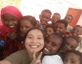 Sáu tháng làm cô giáo ở Sudan