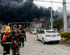 Nổ nhà máy hóa học ở Trung Quốc, 44 người thiệt mạng