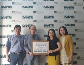 Trường tiểu học đô thị Việt Hưng ủng hộ 100 triệu đồng giúp xây điểm trường Nặm Ún, Sơn La