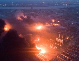 Vụ nổ nhà máy hóa chất Trung Quốc: Cửa sổ nhà dân cách xa 6km vỡ tan tành