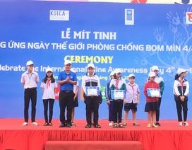 """Quảng Bình: Nhiều hoạt động hưởng ứng """"Ngày thế giới phòng chống bom mìn"""""""