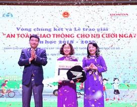 """Honda Việt Nam và hành trình """"An toàn Giao thông cho nụ cười ngày mai"""""""
