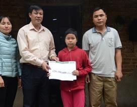 Hơn 128 triệu đồng đến với gia đình bé Thanh bị ung thư máu