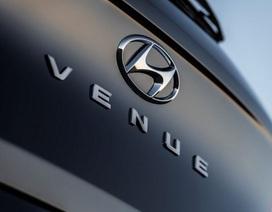 Tân binh Hyundai Venue chờ ngày ra mắt