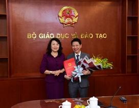Bộ GD&ĐT bổ nhiệm nhân sự mới