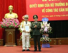 Phó Giám đốc Công an Ninh Bình được bổ nhiệm làm Giám đốc Công an Vĩnh Phúc