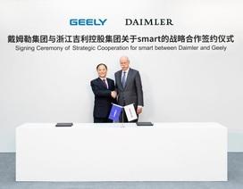 """Daimler bắt tay với hãng xe Trung Quốc để """"cứu"""" Smart"""