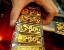 Giá vàng bất ngờ giảm mạnh kể từ tháng 8/2018