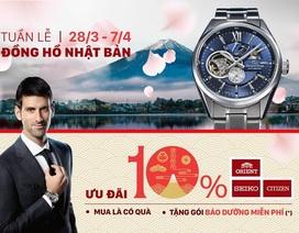 Điều gì tạo nên sức hút cho đồng hồ Nhật Bản tại Việt Nam