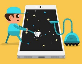 """""""Dọn rác giúp tiết kiệm dung lượng lưu trữ trên smartphone"""" là thủ thuật nổi bật tuần qua"""