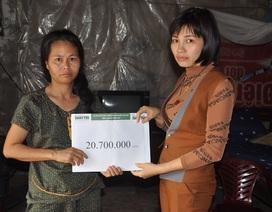 Bạn đọc giúp người mẹ bị câm điếc hơn 20 triệu đồng