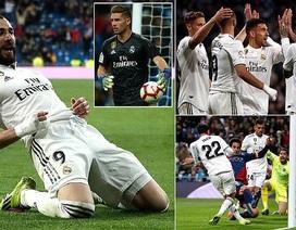 Thắng nghẹt thở đội cuối bảng, Real Madrid tiếp đà thăng hoa thời HLV Zidane