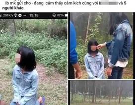 Vụ nữ sinh lớp 7 bị bắt quỳ, đánh hội đồng: Do tung tin đồn thất thiệt