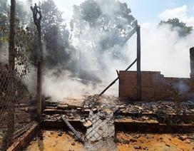 Nam thanh niên cãi nhau với mẹ rồi châm lửa đốt nhà