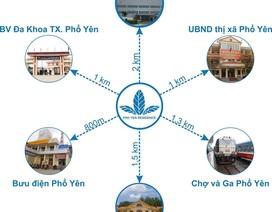 Tầm nhìn dài hạn khi đầu tư đất nền dự án KDC Phổ Yên Residence