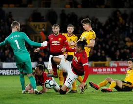 "Wolves 2-1 Man Utd: ""Quỷ đỏ"" tự gieo hận"