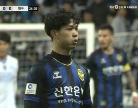 HLV Incheon United nói gì về Công Phượng khi lần đầu đá chính?