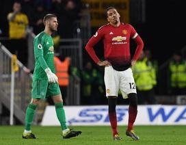 Những khoảnh khắc ở trận thua ngược của Man Utd trước Wolves