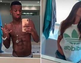Sao trẻ Real Madrid hẹn hò ngôi sao truyền hình đẹp bốc lửa