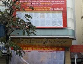 Thụ lý giải quyết tố cáo nguyên Cục trưởng Cục thi hành án dân sự TP Hà Nội