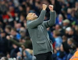 Những khoảnh khắc Man City vượt qua Cardiff để trở lại ngôi đầu bảng