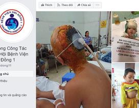 """Mạo danh fanpage của bệnh viện để """"câu"""" tiền từ thiện"""