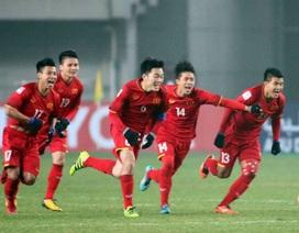 Đội tuyển Việt Nam vươn lên vị trí 98 trên bảng xếp hạng FIFA