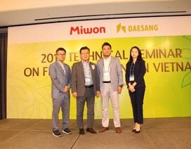 Miwon ra mắt sản phẩm dinh dưỡng mới cho ngành chăn nuôi Việt Nam