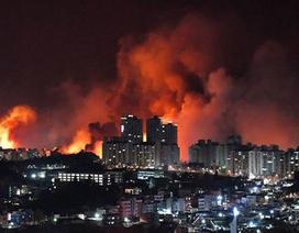 Miền đông Hàn Quốc chìm trong biển lửa cháy rừng