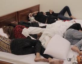 17 thanh niên phê ma túy trong nhà nghỉ